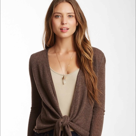 78% off Philosophy Sweaters - Philosophy 100% cashmere wrap ...