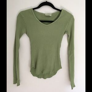 Michael Stars Olive Green Long Sleeve Size S