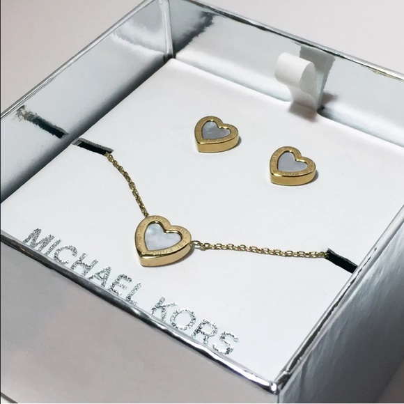 michael kors jewelry sale necklace and earring set poshmark rh poshmark com michael kors jewelry sale macys michael kors jewellery sale ebay