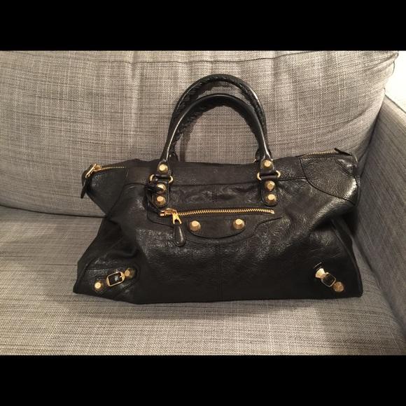 4eb08ecc95 Balenciaga Bags | Giant 12 Golden Work Bag | Poshmark