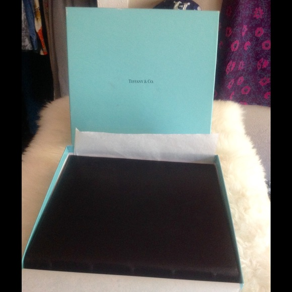 TIFFANY & CO. Leather Photo Album. From