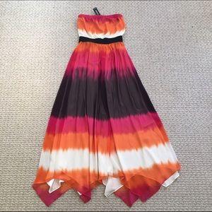 NEW Express strapless maxi dress