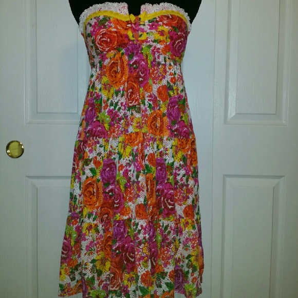 5fe0d1fb4e291 Betsey Johnson Other - Betsey Johnson Swim Cover Up Dress