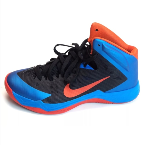5c39d176ff94 ... Nike Zoom Mens Hyper Quickness Sneakers 599519-006 ...