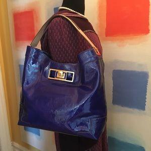 Anya Hindmarch Handbags - Anya Hindmarch💜Patent Leather Bag💜