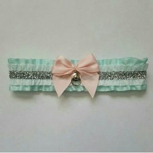 Kawaii Mint Green Kitten Collar