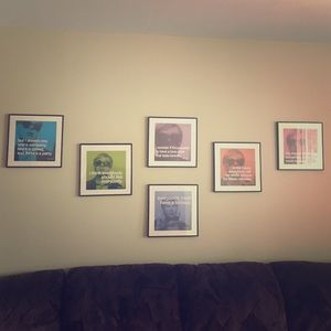 Other - Andy Warhol Framed Photo Series!