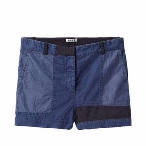 Acne Pants - Acne Bonnie patch shorts
