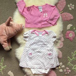 Other - ❌Cute dress onesie & matching bolero