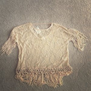 Staring at Stars fringed top