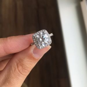 Jewelry - NWOT Sterling Silver and Cubic Zirconia Ring