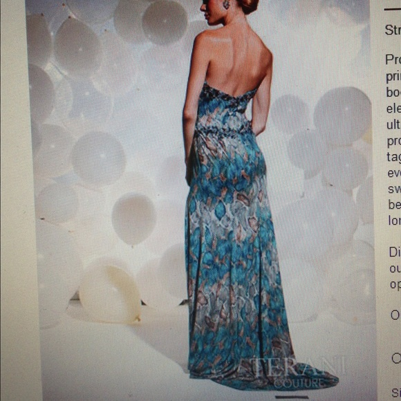 Terani Print Prom Dresses 65