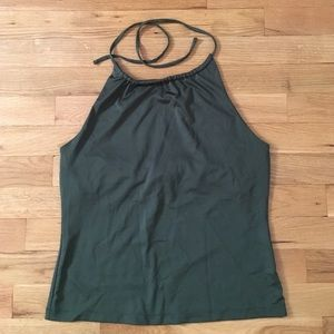 5 for $25 bundle New York & Co green halter top