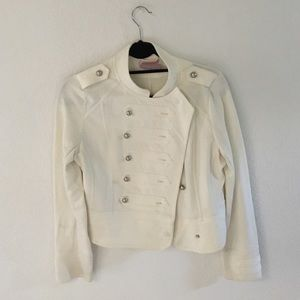 Romeo & Juliet Couture Cream Jacket