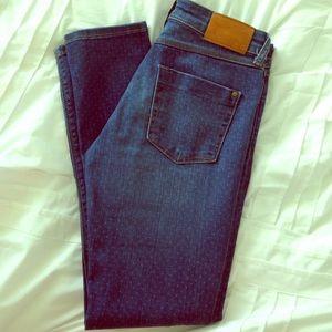 ZARA Polkadot Skinny Jeans