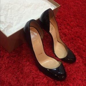 Christian Louboutin Shoes - Christian Louboutin patent leather Black Pumps.
