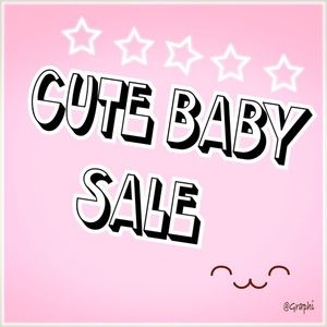 ❌Cute baby sale! Add more eventually ❌