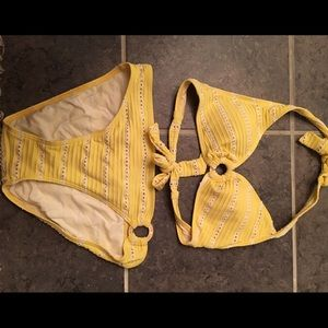 Ralph Lauren Other - Yellow and White Ralph Lauren Bikini