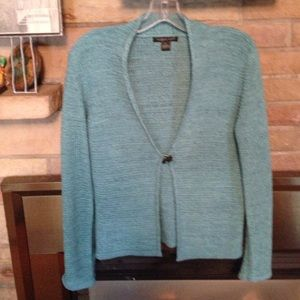 Teal August Silk sweater