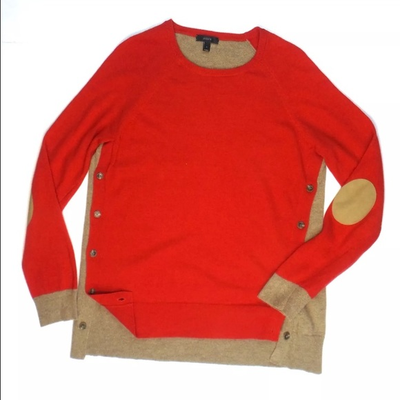 Mens leather elbow patch sweaters