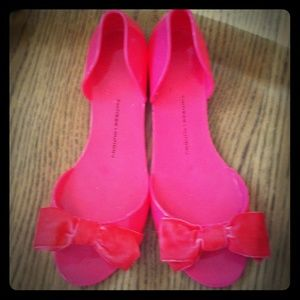 Chinese Laundry Sweet Caroline Pink Jelly Flats 9