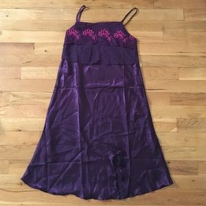 5 for $25 bundle NWOT Purple  Silky Nightgown