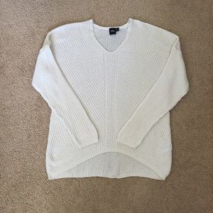 ASOS Cream V Neck Sweater