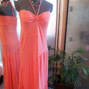 Dresses & Skirts - Beautiful coral colored summer dress size medium