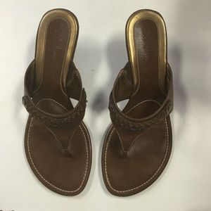 Cole Haan wedge sandals shoes