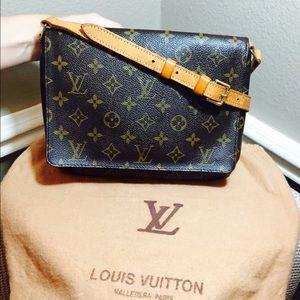 Louis Vuitton Musette Tango Short Shoulder Handbag