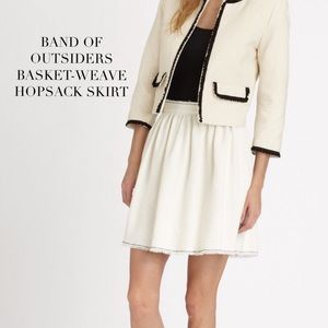 Band of Outsiders Dresses & Skirts - girl. by Band of Outsiders Basket-Weave Skirt