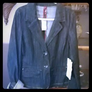 Highway Jeans Jackets & Blazers - NWT ⭐Highway Jeans⭐Lightweight Denim Jacket/Blazer