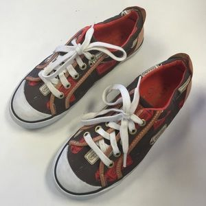 Coach tag print sneakers shoes