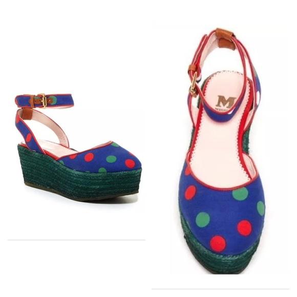 923b268da79101 M Missoni Printed Platform Sandal