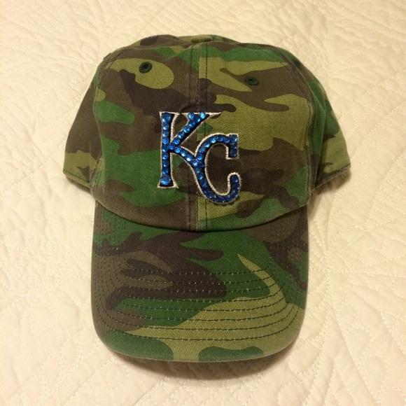 Kansas City Royals  47 Brand Camo Hat 260ddddf74c