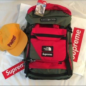 86ab66bed Supreme X North Face Backpack NWT