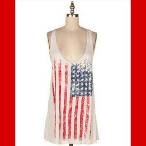 Fashionomics Tops - 🔴🇺🇸AMERICAN FLAG TANK TOP S,M,L🇺🇸