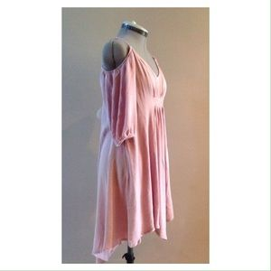 Poema Dresses - Chiffon off the shoulder dress tunic sizes S M L