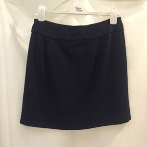 J. Crew Dresses & Skirts - J.crew scallop waist mini skirt
