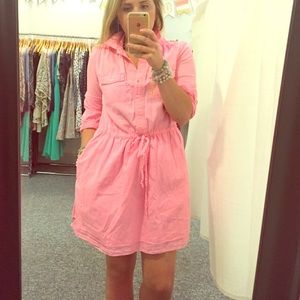 GAP Dresses & Skirts - Hot pink shirtdress