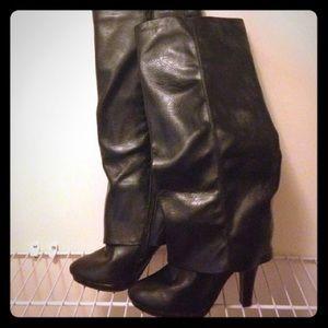 Madeline Stuart Shoes - Madeline Stuart covered boot size 10