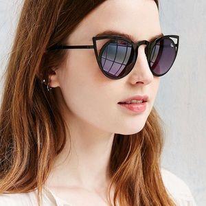 ac3499de857 Quay Australia Accessories - 🆕QUAY Invader Cat sunglasses - BLACK