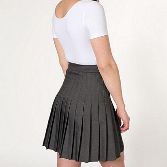 American Apparel Dresses   Skirts - American Apparel Black Pleated Schoolgirl  Skirt 9d5cdddd021f