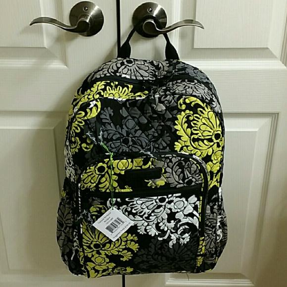 44795eda9d86 Nwt Vera Bradley baroque campus backpack
