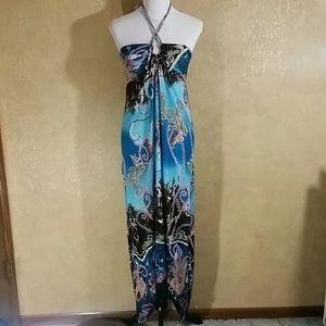 Wayan Natural Wear  Dresses & Skirts - NWT Wayan Natural Wear Hi Lo Dress