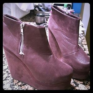 H&M Suede Booties