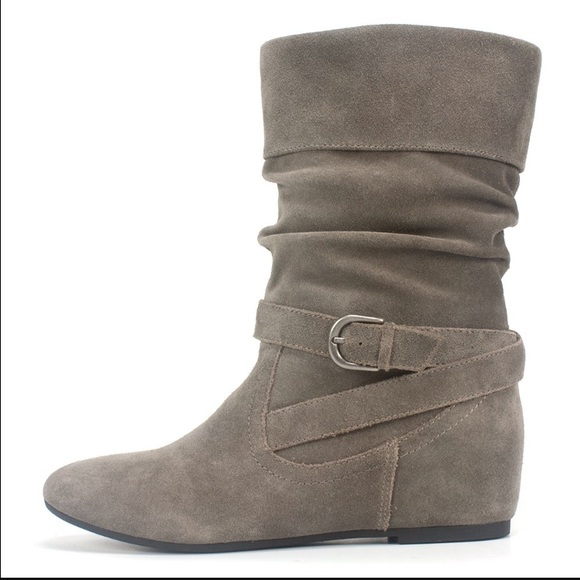 white mountain gray suede boots from shaylyn s closet on