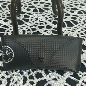 Authentic black Ray Ban sunglass case