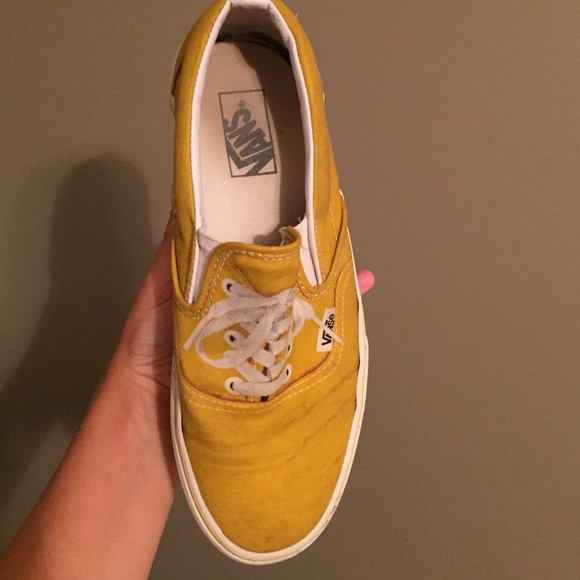 vans mustard