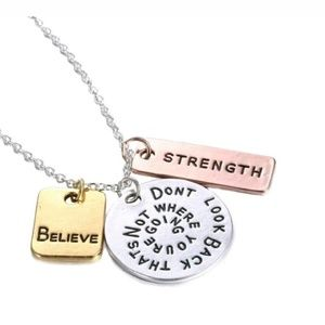A necklace with a reminder